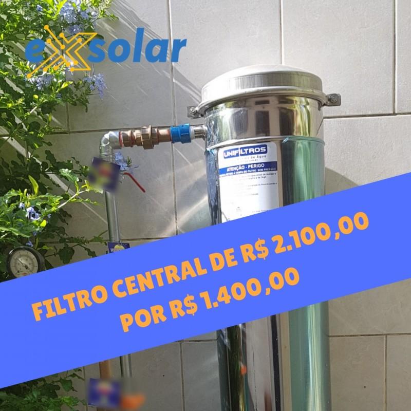 Melhore a qualidade da água da sua casa com o Filtro Central