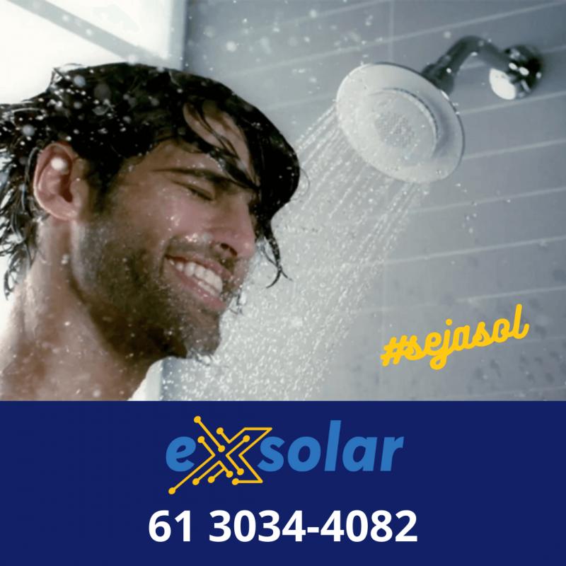A Melhor Empresa de Aquecimento e Energia Solar tem nome: Exsolar